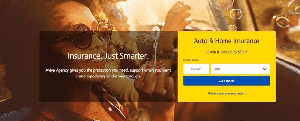 Aviva Auto Insurance