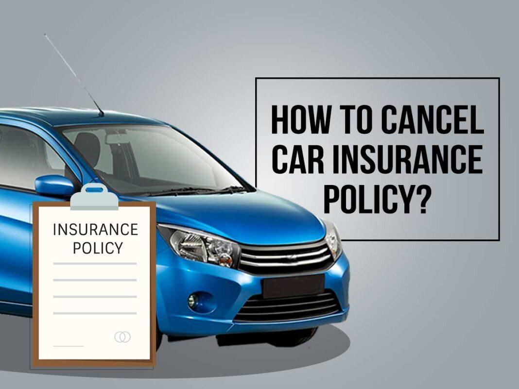 cancel car insurance