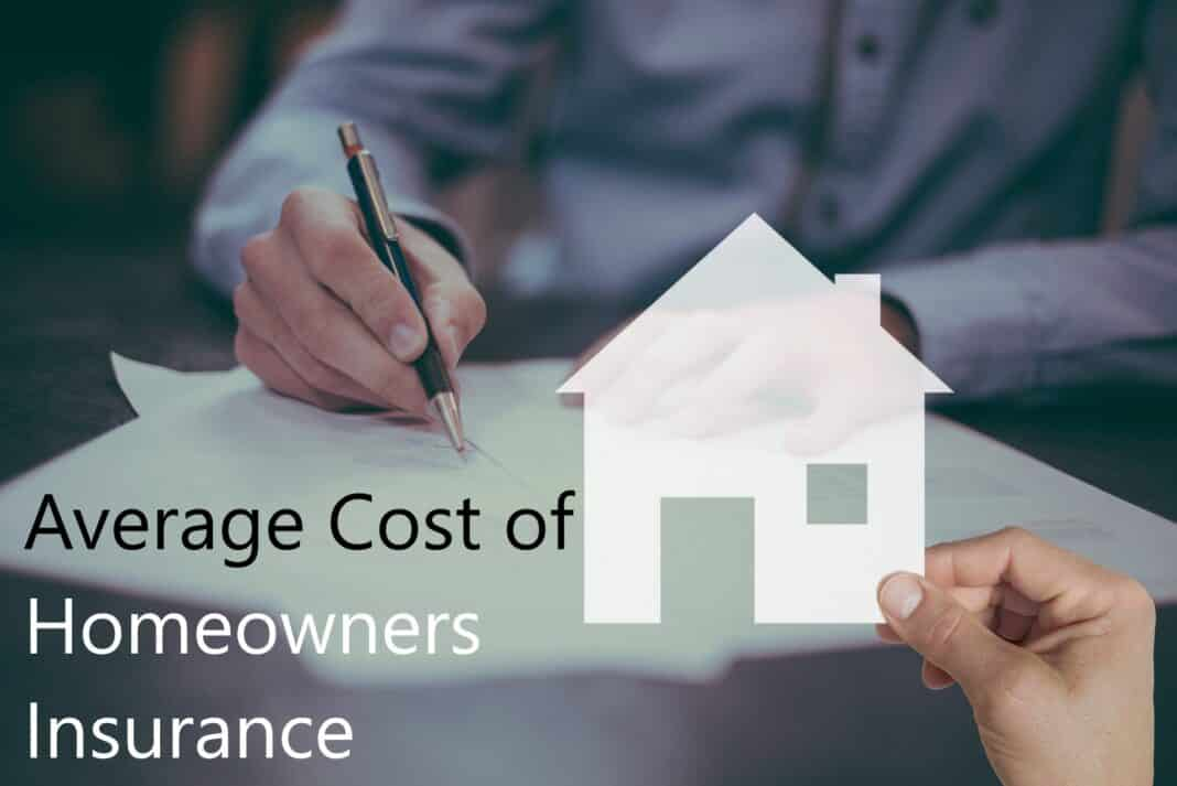 Average Cost of Homeowners Insurance